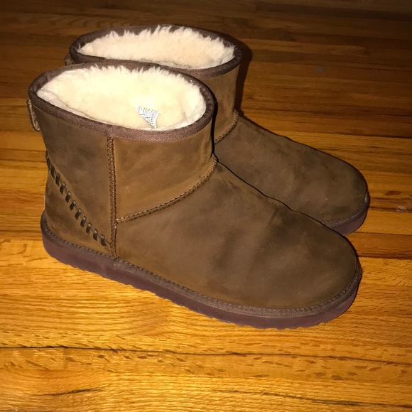 1a676d3080a Men's dark chestnut classic mini deco ugg